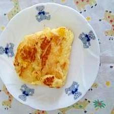レモンのつぶ入りホットケーキ