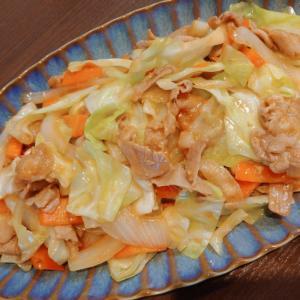 簡単◎豚肉とキャベツの味噌炒め