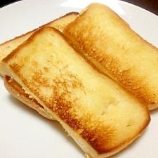 American☆サクっとカリカリのチーズトースト