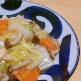 白菜と冷蔵庫の余り物で中華煮