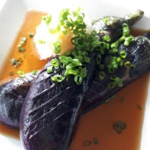 レンジで簡単!紫鮮やか!茄子の煮びたし