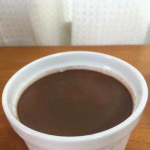 シンプルな材料で作る☆なめらかチョコプリン