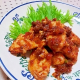 ミートソースで簡単✿鶏むね肉の簡単ソテー❤