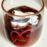 ロックアイスたっぷり★ウイスキー入りアイスコーヒー