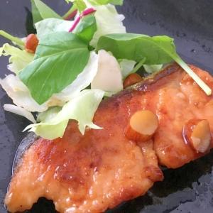 鮭の照り焼き☆秋の味覚