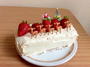 簡単☆巻きクリスマスケーキ