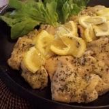 鶏むね肉のハーブレモンソテー