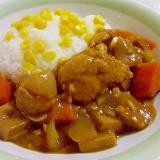 15分♪ふわふわno鶏挽き肉カレー