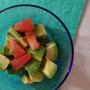 アボカド、トマトのサラダ