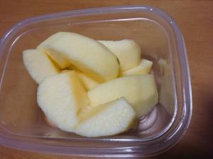 りんごの変色防止