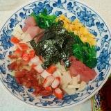 七色すし丼