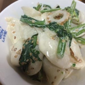 カブの塩麹マヨ和え(o^^o)