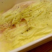 簡単♪白菜、チーズとベーコンでもう一品!