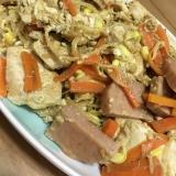 スパム豆腐チャンプルー