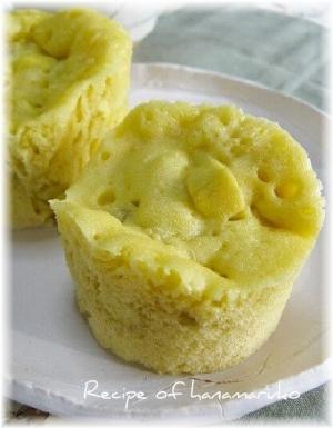レンジで簡単!ふっくらさつま芋蒸しパン