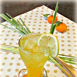 ☆★オレンジ&レモングラスのドリンク♪★☆