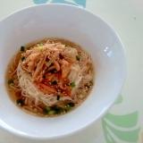 納豆キムチ素麺++