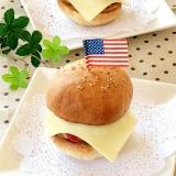 子供ウケ抜群♫手作りハンバーガー