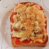 低カロリー・ピザ・トースト