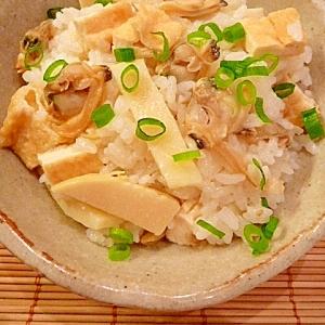 簡単!春の味☆筍とあさりの土鍋ご飯