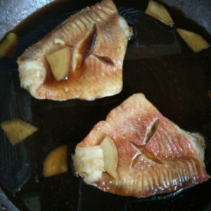赤魚の煮付け  殿さましょうゆ使用
