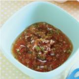 【離乳食7~8か月】しらすのトマト煮込み
