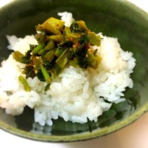 ご飯がススム☆大根の葉っぱの炒め物