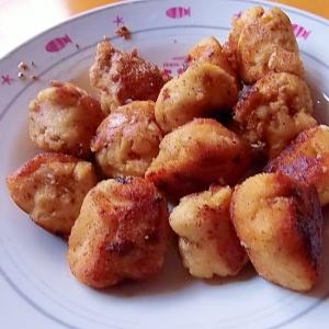 里芋とおからの肉団子