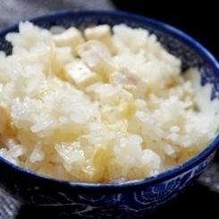 はんなり京味、湯葉と豆腐の炊き込みご飯