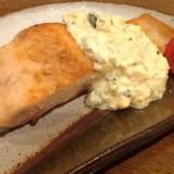 野菜たっぷりのタルタルソース!鮭のムニエル
