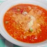 圧力鍋トマトシチュー、野菜いっぱい、塩こうじ入り♪