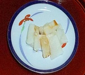 大根と塩麹だけ簡単お漬物