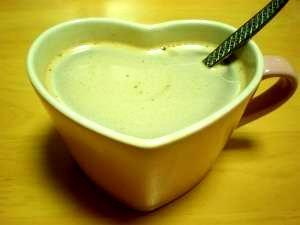 インスタントコーヒーで。カフェモカ風ミルクココア*
