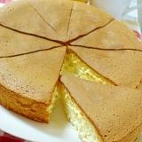 小麦粉で作る♪カステラ風ケーキ