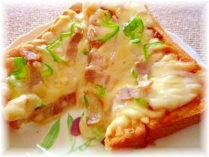♪♪チーズがとろ~り★簡単美味しいピザトースト♪♪