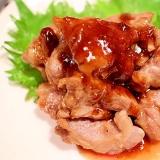 【超簡単】厚切りラム肉の旨タレ焼き