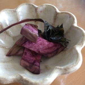 本格発酵★赤紫蘇と茄子のしば漬け