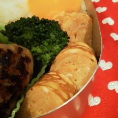 お弁当に❤にんじん卵焼き