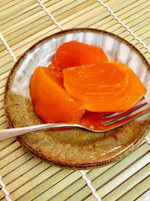 用途いろいろ 冷凍柿