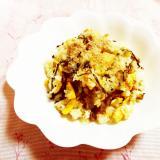 胡麻風味♪卵と高菜炒飯