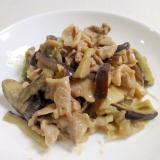 ご飯がすすむ☆豚肉となすの味噌マヨ炒め