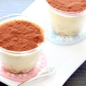 糖質オフ☆ティラミス風♪クリームチーズプリン
