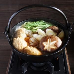 すき焼き風鶏団子鍋