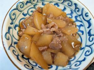 大根と豚肉のトロトロ煮物