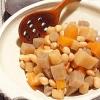 土鍋でほったらかし♪大豆と根菜の五目煮