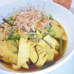 *:..。o☆たけのこと山菜の煮物:..。o☆¨゚