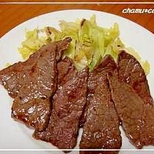 栄養満点☆焼き肉ランチ