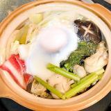 栄養満点☆牡蠣たっぷり鍋焼きうどん