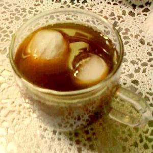 ☆*:・ライチリキュール入り麦茶コーヒー☆*:・★