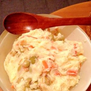 青大豆入りポテトサラダ
